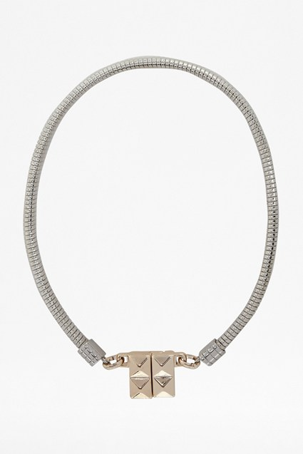 Pryamid Clasp Necklace