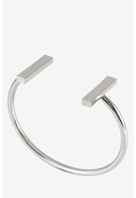 Rectangle Bar End Cap Cuff