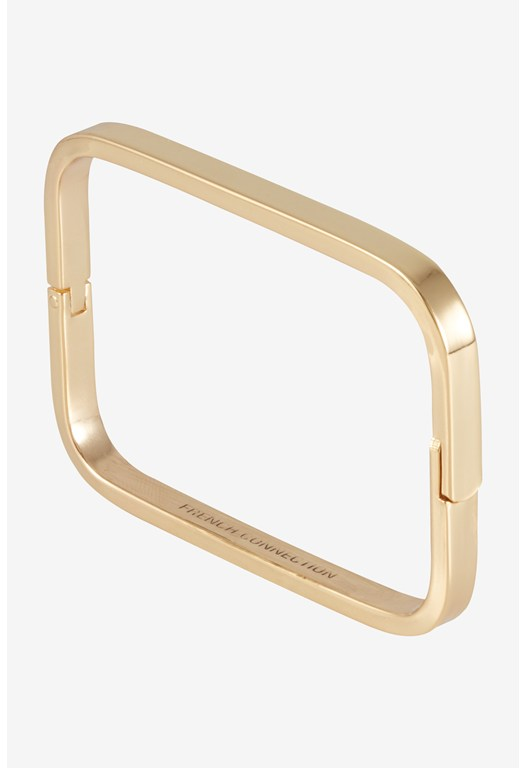 Soft Rectangle Hinged Bangle