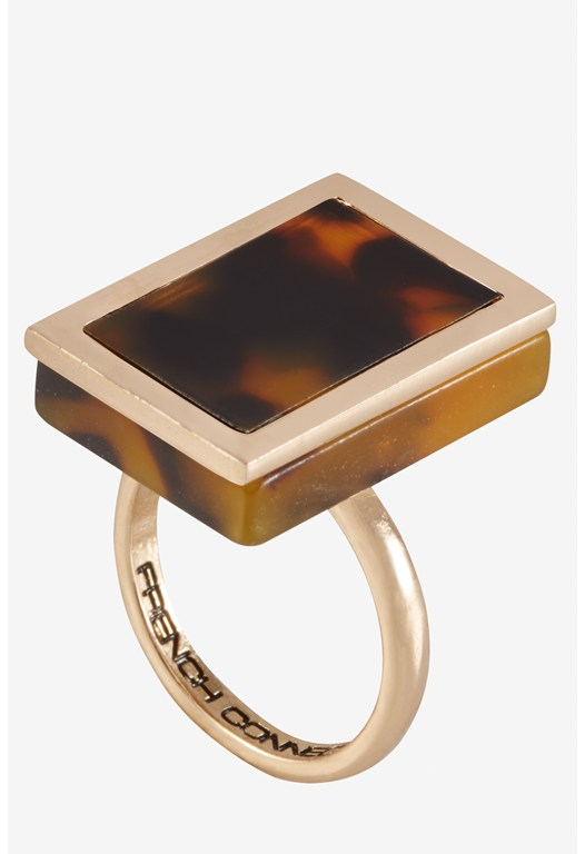 Rectangle Framed Fantastic Ring