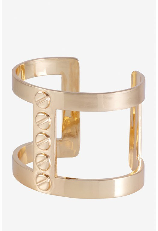 Screw Head Studed I Cuff