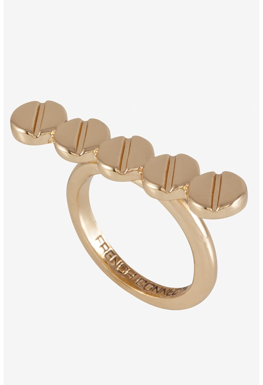 Screw Head Studded Plate Ring