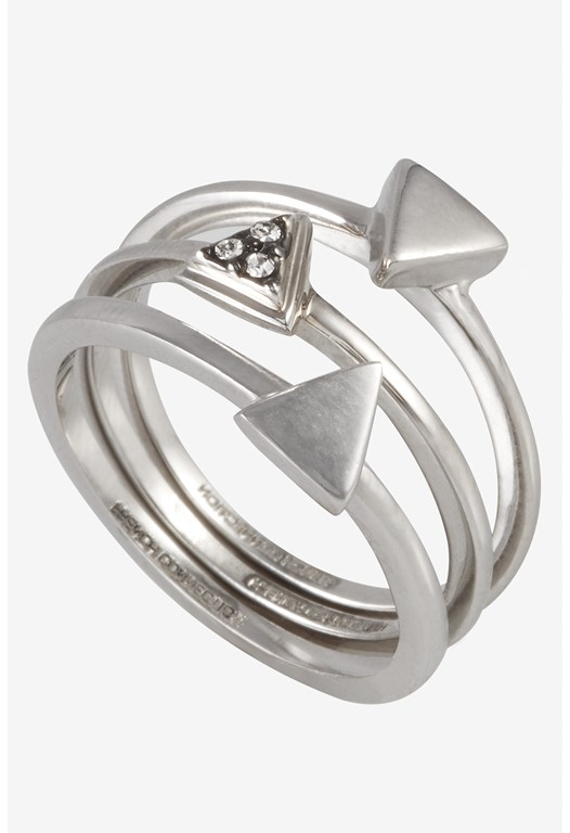 Mini Triangle Rings