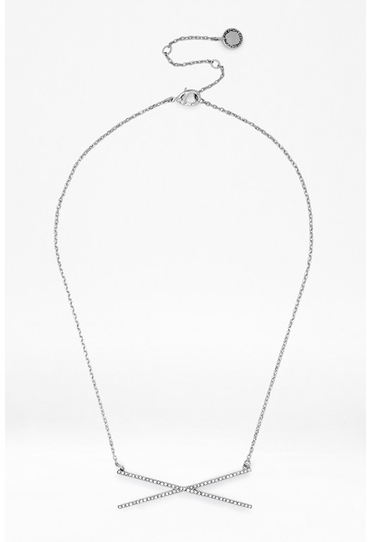 X-Shaped Pendant Necklace