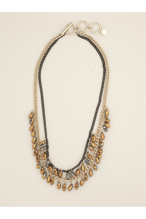 Marble Drop Collar Necklace