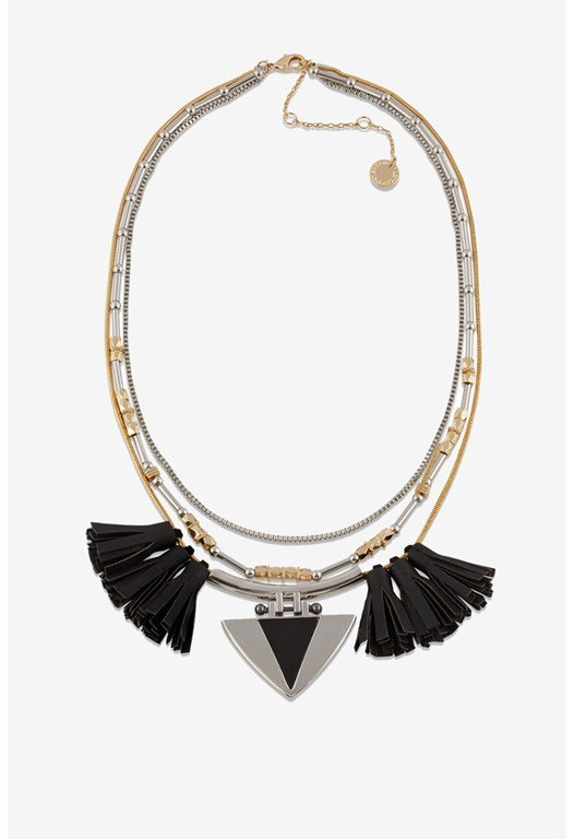 Necklace-Layeered Tassels