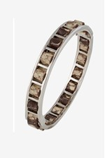 Looks Great With Woven Leather Bangle