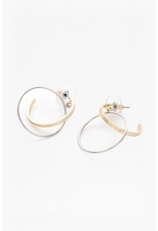 Orbital Hoop Earrings