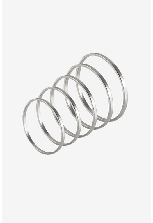 5 Mid Finger Ring Set