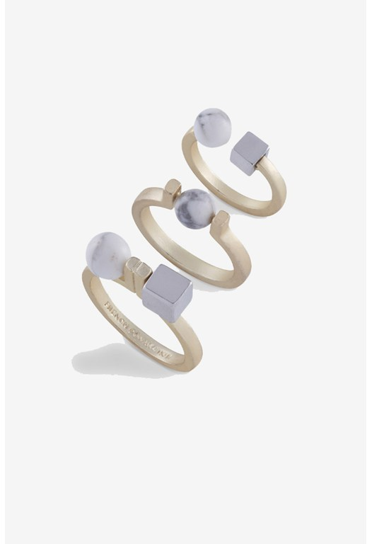 Bead Midi Set Rings