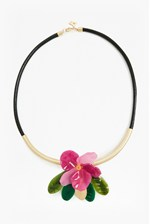 Looks Great With 24 Inch Flower Pendant Necklace