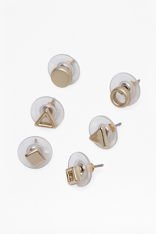 Complete the Look Shape Studs Earring Set