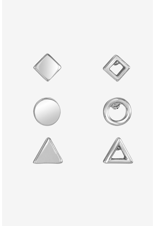 Shape Studs Set Of 6