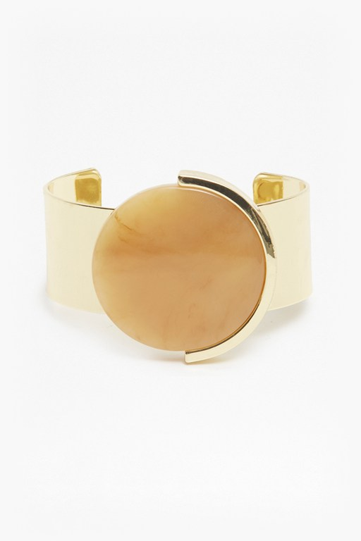 Complete the Look Grecian Moon Cuff Bracelet