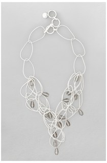 Irregular Hoop Collar Necklace