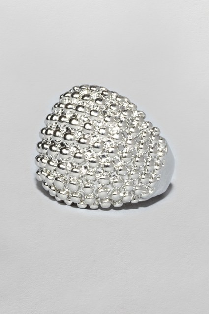 Textured Dome Ring