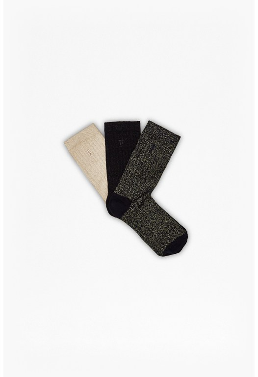 Lurex 3PK Socks Gift Set