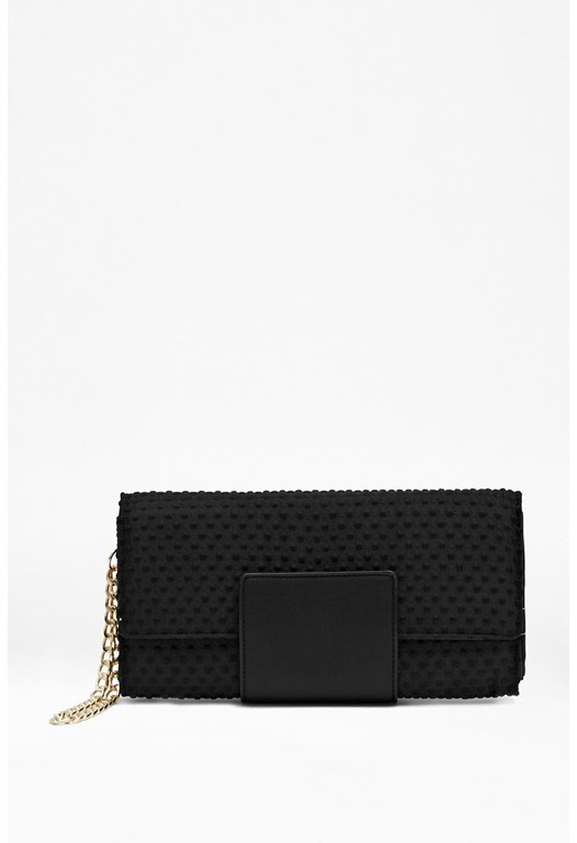 Harrie Textured Clutch