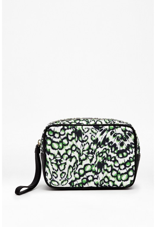 Lyric Printed Make-Up Bag