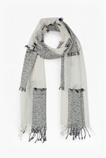Looks Great With Hopsotch Woven Scarf