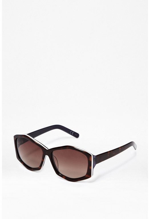 Demi Hexagonal Sunglasses