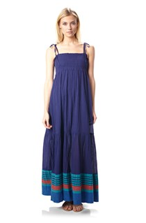 Sunny Stripe Maxi Dress