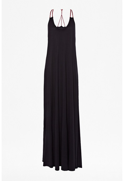 Polly Plains Maxi Dress