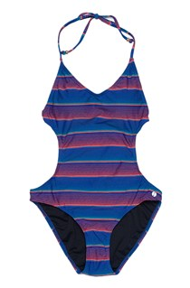 Sunny Stripe Swm Cut Out Swmst