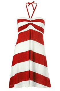 Sun & Sean Striped Beach Dress