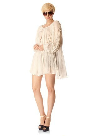 BEACH GAUZE DRESS