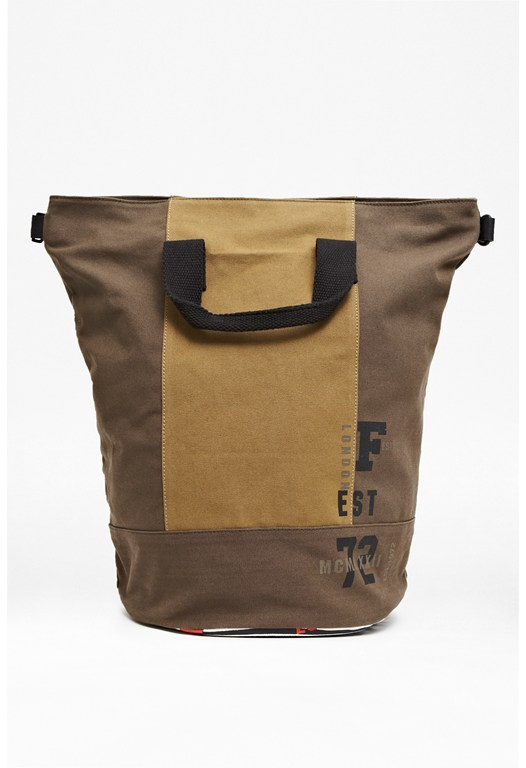 Miles Canvas Backpack