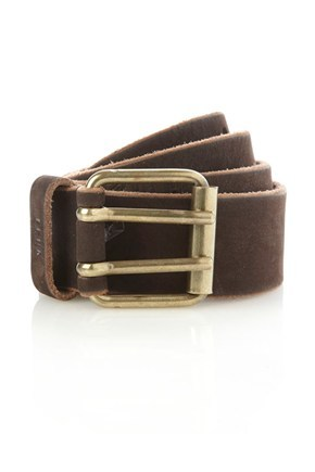 Overlapped Jigsaw Leather Belt