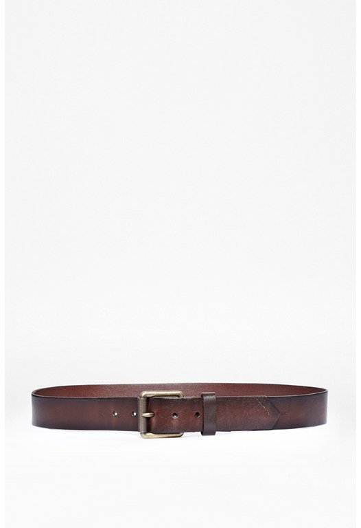 Maritide Chisel Edge Leather Belt