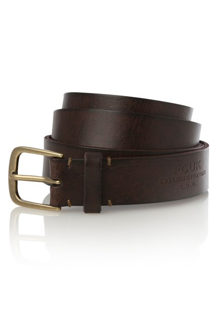 Courtland Leather Belt