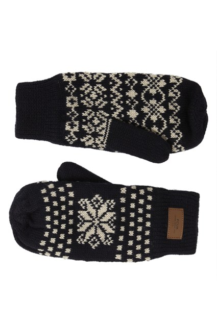 FAIRISLE EXHIBITION MITTENS