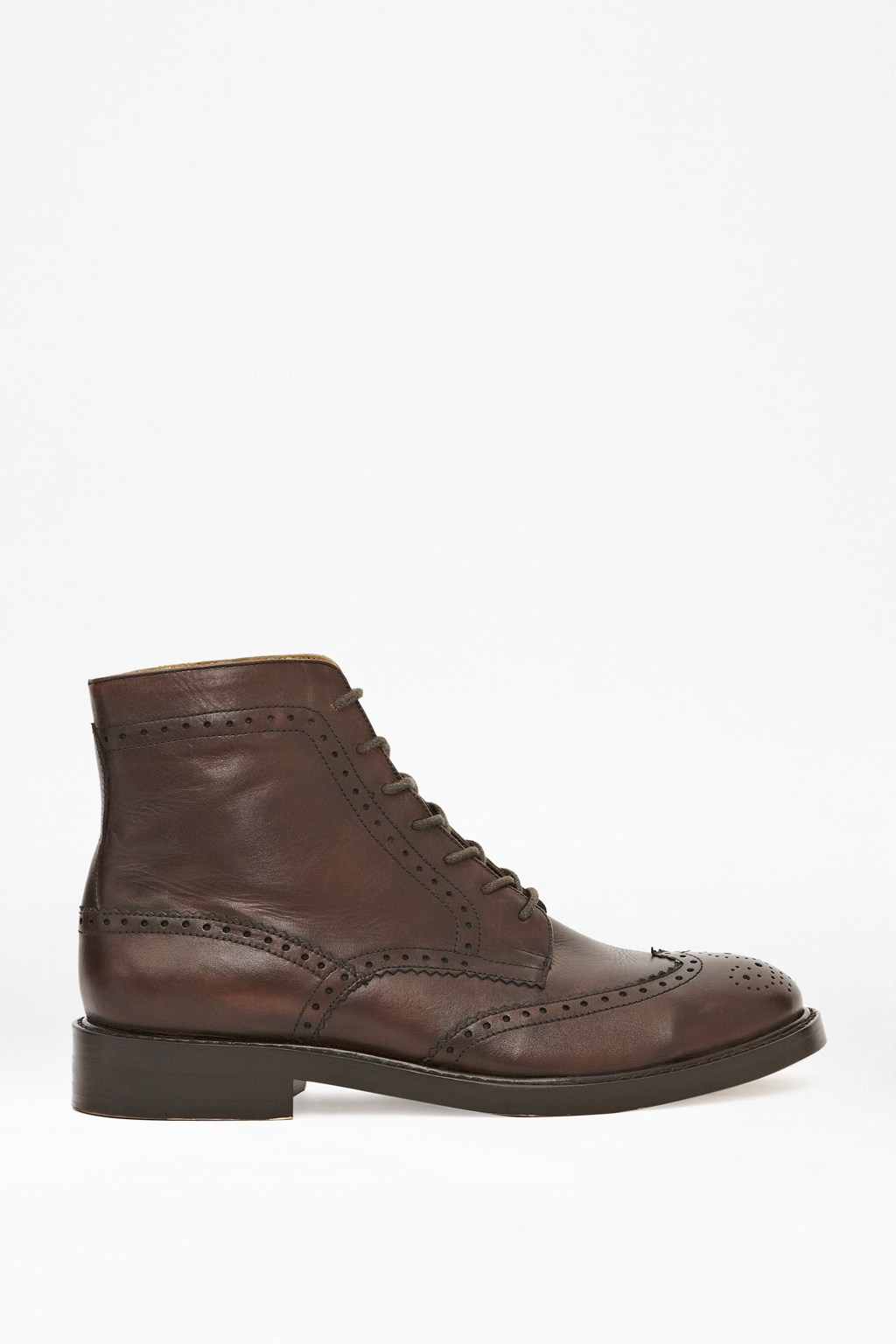 nick lace up leather ankle boots mens styles