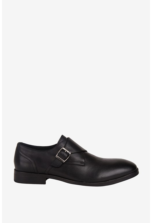 Franky Leather Monk Strap Shoes