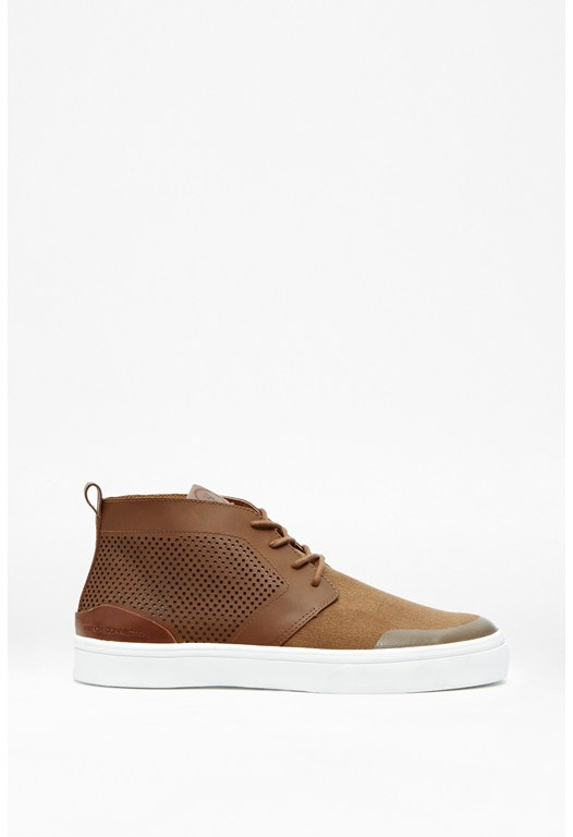 Catcher Leather Hi-Top Trainers