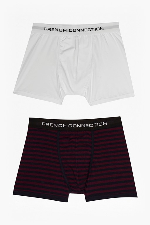 Tandem Stripe Mix 2 Pack Boxers