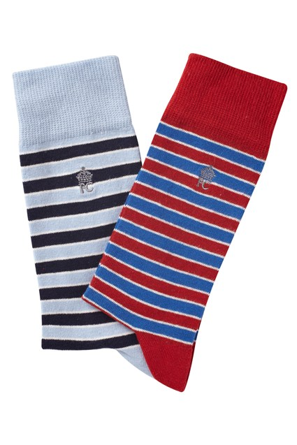 Two Pack Strike Socks