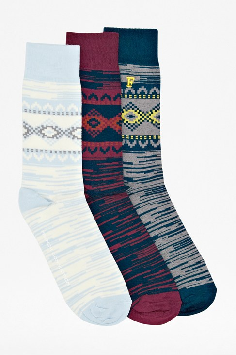 Victor Fairisle Socks