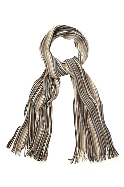 MANNER STRIPE SCARF
