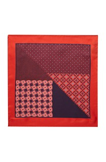 Silk Grenade Pocket Square