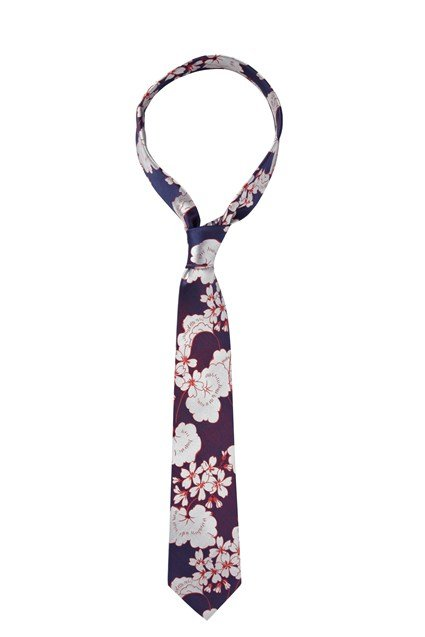Abstract Paradise Tie