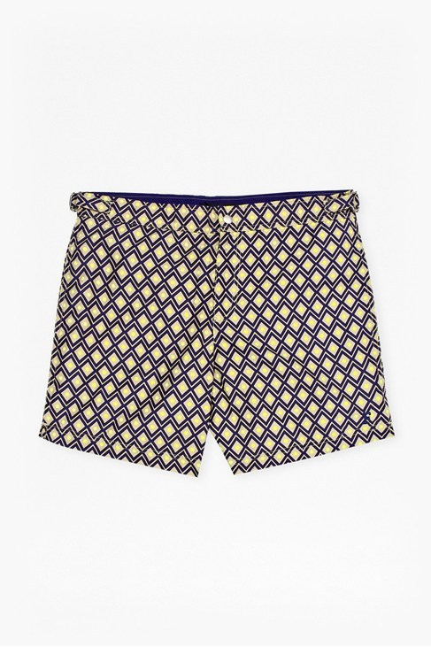 Tailored Printed Swim Shorts