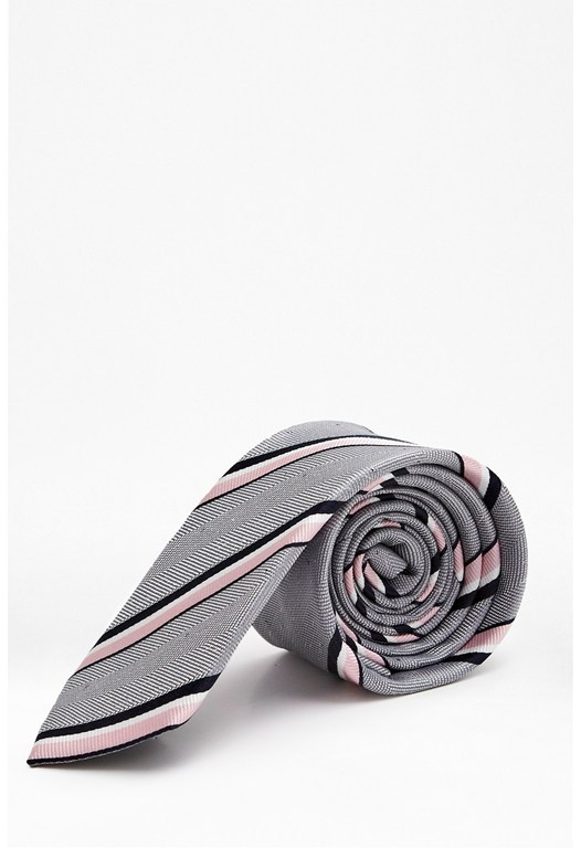 Connor Stripe Silk Tie
