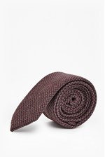 Looks Great With Lawson Dogtooth Wool Mix Tie