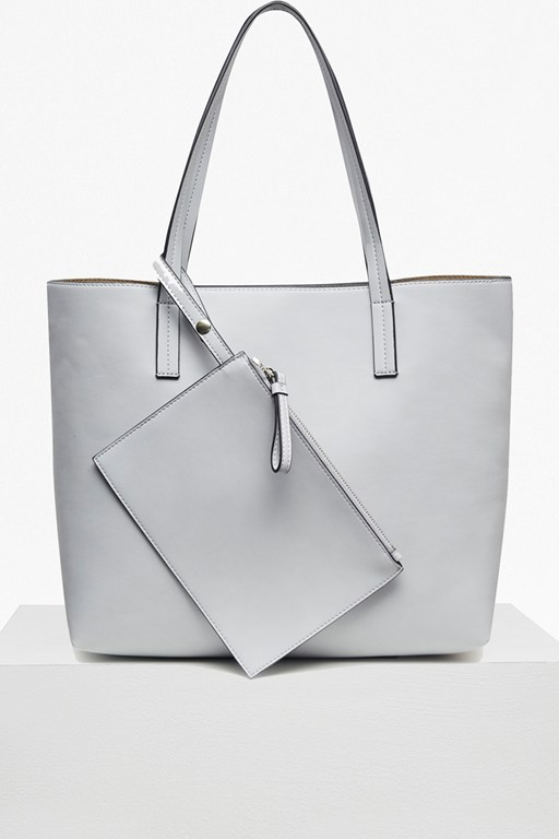 Complete the Look Core Faux Leather Shopper Bag