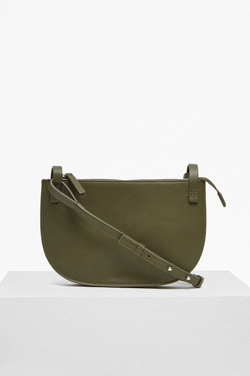 clean minimalism cross body bag