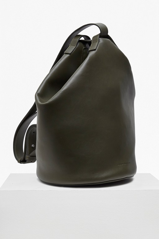 clean minimalism hobo backpack